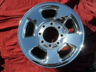 dodge ram 2500 3500 chrome clad wheel rim 17 2187c