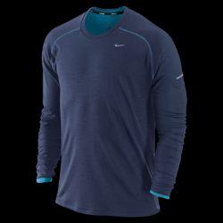 Nike Dri FIT Wool Crew Mens Running Shirt