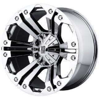 18 inch XD Monster Chrome Wheels Rims 5x150 Toyota 18