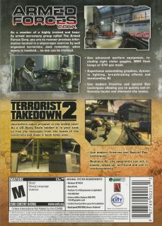 Armed Forces Corp Terrorist Takedown 2 Combo Pack New