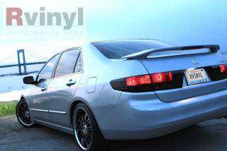 Smoke Taillight Tint Film Kit Honda Accord Sedan 2003 2005