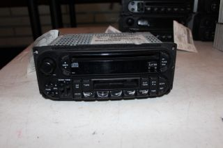 2004 2005 Dodge Neon CD Player Radio w Tape