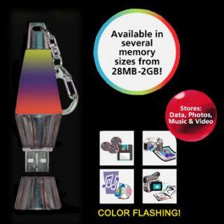 256MB Black Chrome USB Flash drive Memory Stick with Phasing Light
