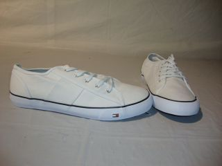 Tommy Hilfiger Mens Tucker Shoes   White   12 M