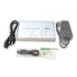 USB 2 0 IDE External HDD Hard Disk Drive Enclosure