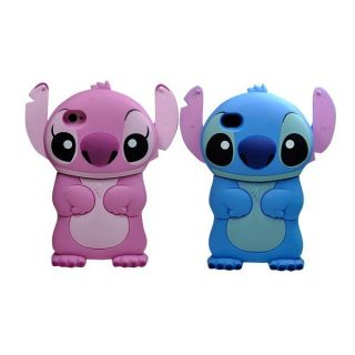 Disney 3D Stitch Movable Ear Flip Hard Case for iPhone 4 4S