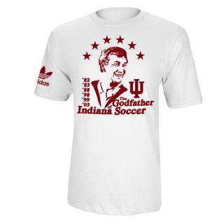 Indiana Hoosiers Adidas Originals Godfather of Indiana Soccer T Shirt