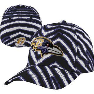 Baltimore Ravens New Era High Crown 39THIRTY Zubaz Flex Hat
