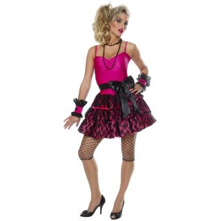 Girl Dress on 888 80s Madonna Pop Star Material Girl Dress Up Costume