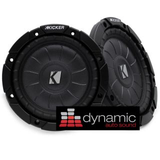 CVT65 4 COMP VT SUBWOOFERS 6 5 600 WATTS SVC 4 OHM SUBS CVT6 5 NEW