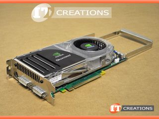 NVIDIA QUADRO FX4600 PCI E X16 768MB DUAL DVI STEREO OUTPUT VIDEO CARD