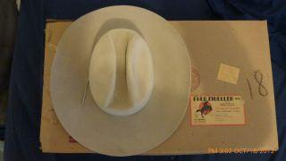 Fred Mueller Vintage Cowboy Style Hat Number 7