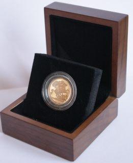1902 Edward VII Gold Full Sovereign Presentation Box