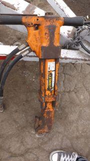 Stanley Hydraulic Jack Hammer Breaker BR67 Hydraulic