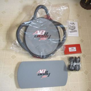 AB Dolly Plus Exercise Abdominal Machine Brand New
