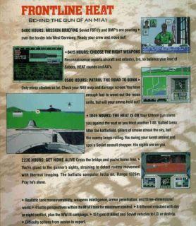 Abrams Battle Tank w Manual PC War Simulation Game