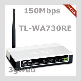 Access Point WiFi Range Extender Repeater Wireless 150Mbps TP Link TL