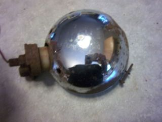 Vintage 1940s 1950s Accessory Chrome Fog Driving Light 6 Hot Rat Rod