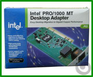 Pro 1000 MT PWLA8390MT 82540 Gigabit PCI Desktop Network Adapter Card