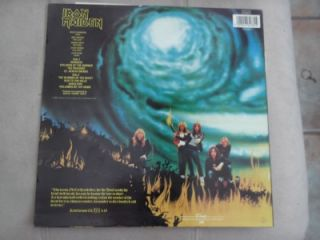 Iron Maiden The Number of The Beast 12 Vinyl Record LP