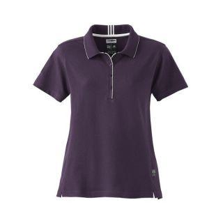 ADIDAS GOLF NEW Climalite Ladies Size MEDIUM INTERLOCK Polo Shirt