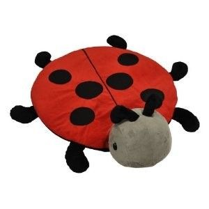 Ladybug Snug Rug Red Animal Plush Stuffed Soft 30 Activity Mat New