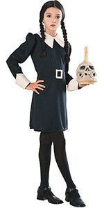 Addams Family Wednesday Child Halloween Costume Size 12 14 Large