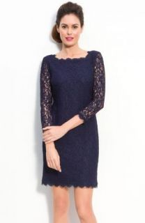 Adrianna Papell Black Lace Overlay Sheath Cocktail Dress 22W $190