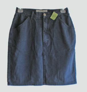Womans Blue Jeans Distressed Denim Skirt Size 6
