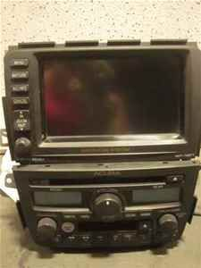 03 acura mdx oem navigation 6 disc cd player radio lkq