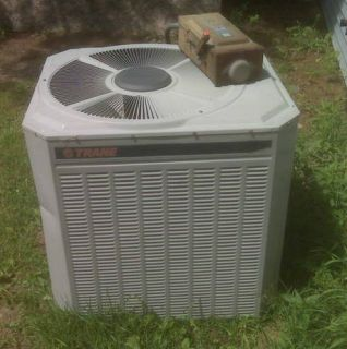 TRANE CENTRAL AIR CONDITIONER UNIT 3 TON SEER R 22 3 PHASE AC