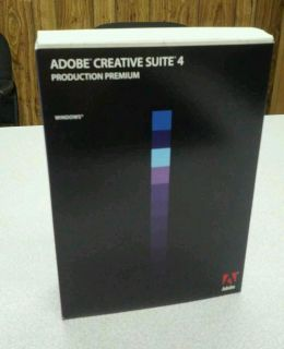 Adobe Creative Suite 4 Production Premium Windows 65023084