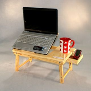 NEW ADJUSTABLE LEGS COMPUTER LAPTOP TABLE DESK BED TRAY DESK