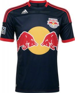 Red Bull New York Adidas Soccer Replica Away Jersey