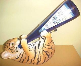 TIGER CUB Wine Bottle Holder Bengal Safari African Exotic Jungle