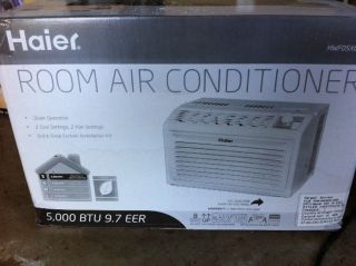 Haier 5000 BTU window air conditioner for rooms 100 to 150 sq. ft