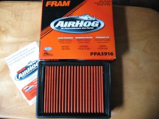 Intake Air Filter Fram High Perf Chevrolet Pontiac Buick Olds PPA3916