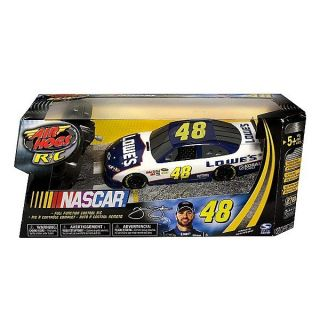 NASCAR Air Hogs Radio Control 1/24 Scale Replica #48 Lowes Car