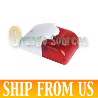 12 Volt Security Systems Alarm Strobe Light Siren Red