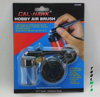 Airbrush Single Action External Mix Air Brush Kit Siphon Feed Hobby