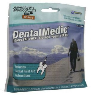 ADVENTURE MEDICAL DENTAL MEDIC KIT survival, emergency NEW