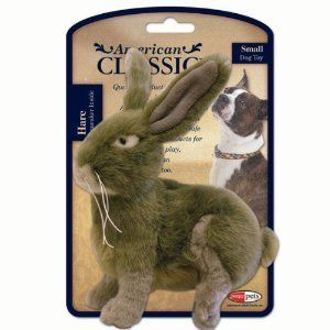 American Classic Hare Dog Toy AKC Jakks Plush
