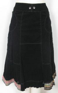 Femmes Je Vous aime Black French Ladies Business Skirt Suit Sz 10