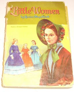 LITTLE WOMEN LOUISA MAY ALCOTT WHITMAN PUBLISHING 1955 ILLUSTRATED