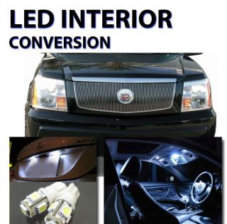 Agt™ Xenon White Interior LED Package Kit for Cadillac Escalade 2002