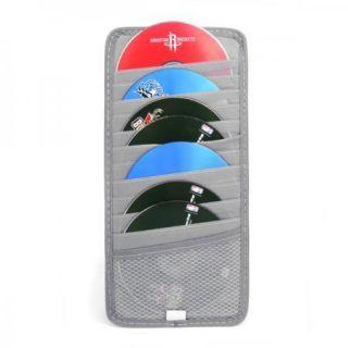 CD DVD Case Bag Car Sun Visor Organizer Holder 12 Layer