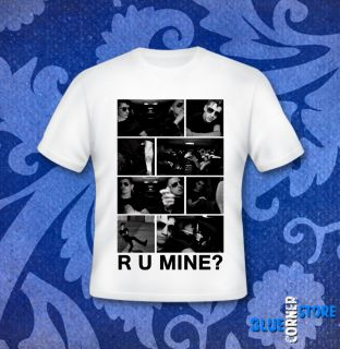 Arctic Monkeys T Shirt R U Mine XS s M L Suck It and See Humbug