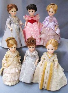 Fourth Set of Madame Alexander First Ladies 14 Dolls Made in USA No