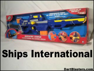 Air Zone Quickfire Sniper Blaster w 25 Nerf Darts
