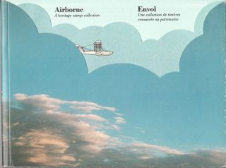 Canadian Thematic Stamp Book Air Planes Airborne Used